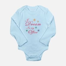 Dream in my office Long Sleeve Infant Bodysuit