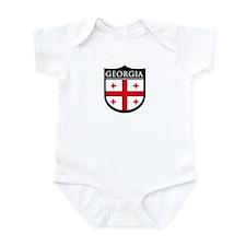 Georgia (Rep) Patch Infant Bodysuit