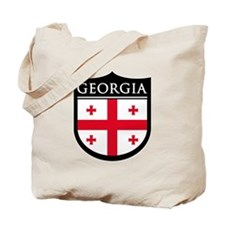 Georgia (Rep) Patch Tote Bag