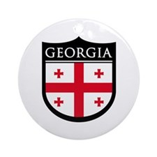 Georgia (Rep) Patch Ornament (Round)