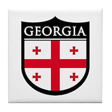 Georgia (Rep) Patch Tile Coaster