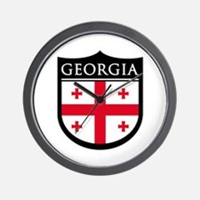 Georgia (Rep) Patch Wall Clock