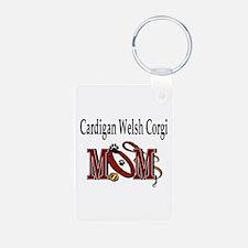 Cardigan Welsh Corgi Keychains