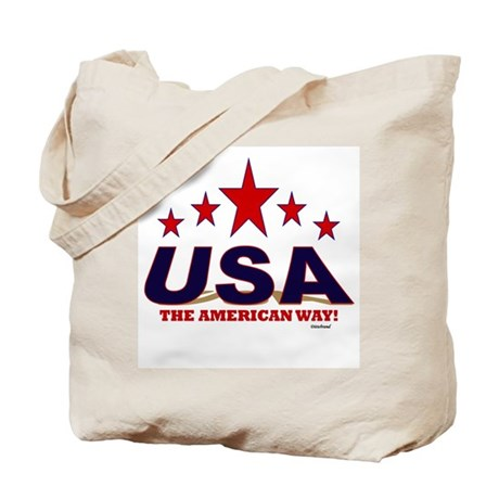 USA The American Way Tote Bag