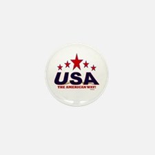USA The American Way Mini Button (10 pack)