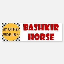 My Other Ride Is A Bashkir Horse Bumper Bumper Bumper Sticker