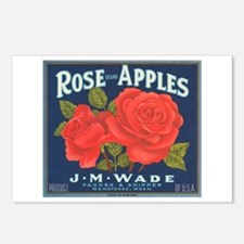 Rose Apples Postcards (Package of 8)