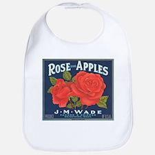 Rose Apples Bib