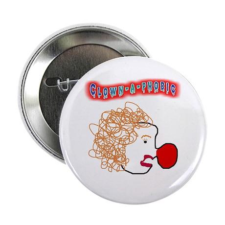 Clown -a- phobic Button