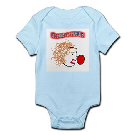 Clown -a- phobic Infant Creeper