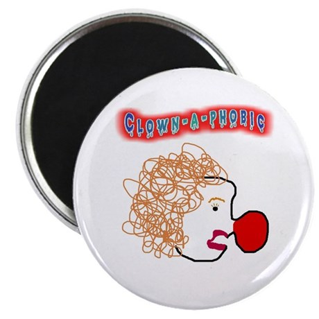 Clown -a- phobic Magnet