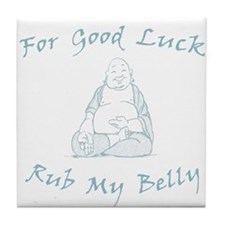 Lucky Buddha Tile Coaster