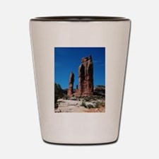 Moab Utah Sentinal Shot Glass