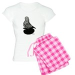 Splash Tumbler Pigeon Women's Light Pajamas