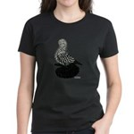 Splash Tumbler Pigeon Women's Dark T-Shirt
