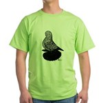 Splash Tumbler Pigeon Green T-Shirt
