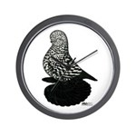 Splash Tumbler Pigeon Wall Clock