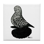 Splash Tumbler Pigeon Tile Coaster