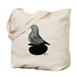 Splash Tumbler Pigeon Tote Bag
