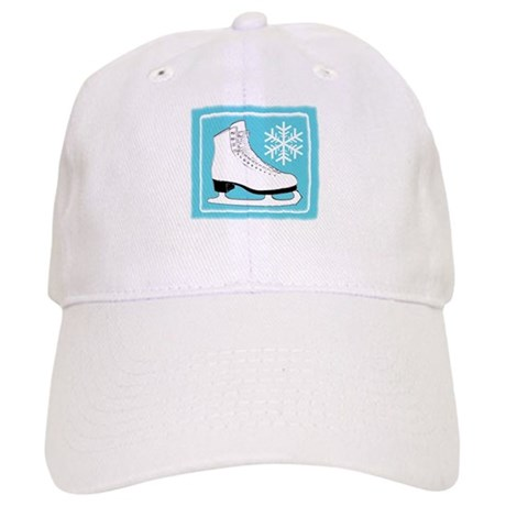 Turquoise Ice Skate Cap