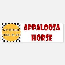 My Other Ride Is An Appaloosa Horse Bumper Bumper Bumper Sticker