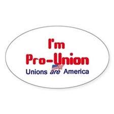 Pro Union Decal
