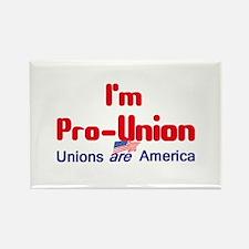 Pro Union Rectangle Magnet