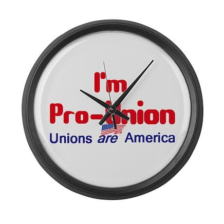 Pro Union Large Wall Clock