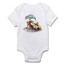 tRoPiCaL pEnGuIn Infant Creeper