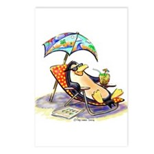 tRoPiCaL pEnGuIn Postcards (Package of 8)