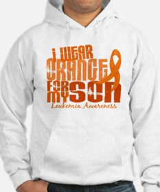 I Wear Orange 6.4 Leukemia Jumper Hoody