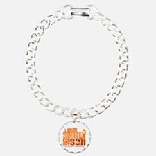 I Wear Orange 6.4 Leukemia Bracelet