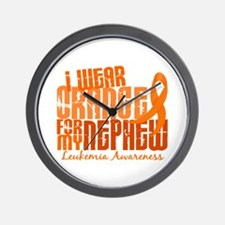 I Wear Orange 6.4 Leukemia Wall Clock