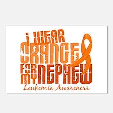 I Wear Orange 6.4 Leukemia Postcards (Package of 8