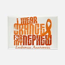 I Wear Orange 6.4 Leukemia Rectangle Magnet (10 pa