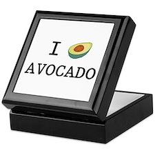 I Love Avocado Keepsake Box