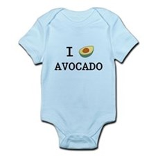 I Love Avocado Infant Bodysuit