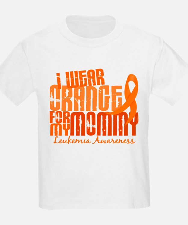 I Wear Orange 6.4 Leukemia T-Shirt