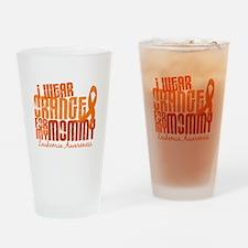 I Wear Orange 6.4 Leukemia Pint Glass
