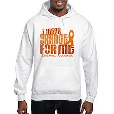 I Wear Orange 6.4 Leukemia Hoodie