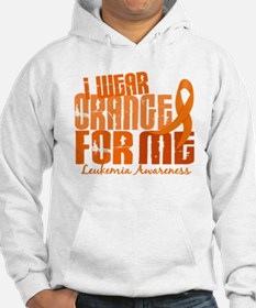 I Wear Orange 6.4 Leukemia Hoodie Sweatshirt