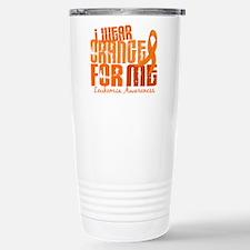 I Wear Orange 6.4 Leukemia Travel Mug