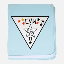 Cool Uss nimitz baby blanket