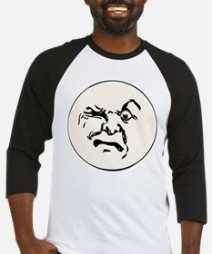 Angry Man In The Moon Baseball Jersey