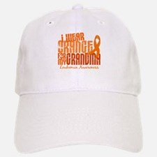 I Wear Orange 6.4 Leukemia Baseball Baseball Cap
