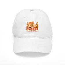 I Wear Orange 6.4 Leukemia Baseball Cap