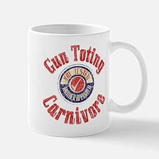 Gun Toting Carnivore Seal Mug
