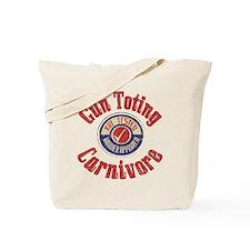 Gun Toting Carnivore Seal Tote Bag