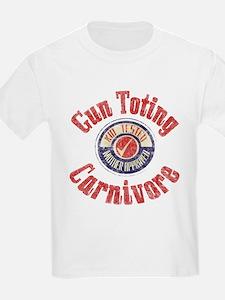 Gun Toting Carnivore Seal T-Shirt