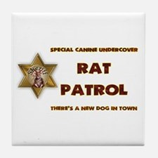Rat Patrol Tile Coaster